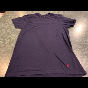 Polo Ralph Lauren Navy Blue Tee Shirt Size Medium